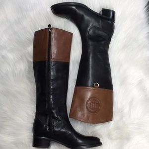 Etienne Aigner leather boots Us 6
